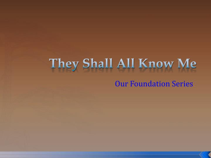 Our foundation series