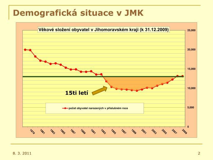 Demografick situace v jmk