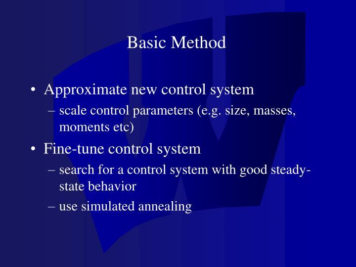 Basic Method