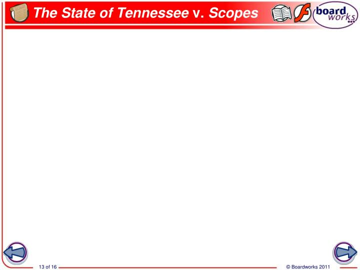 The State of Tennessee