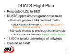 duats flight plan