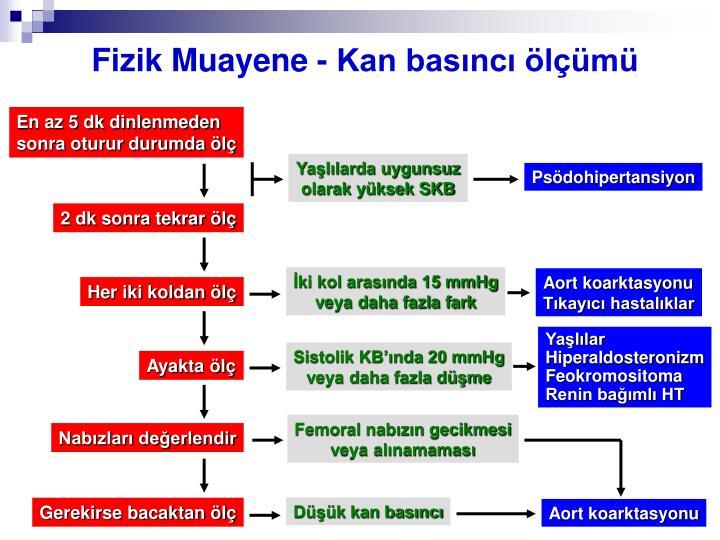 Fizik Muayene - Kan basıncı ölçümü