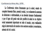 conferencia alma ata 1978