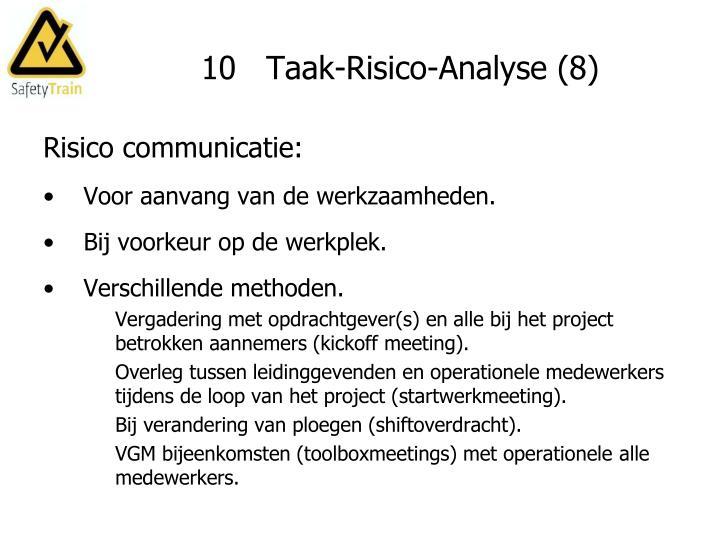 10   Taak-Risico-Analyse (8)