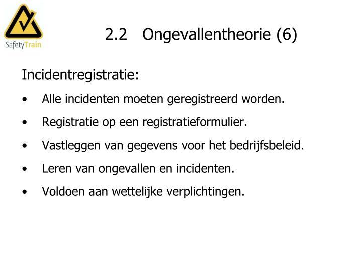 2.2   Ongevallentheorie (6)
