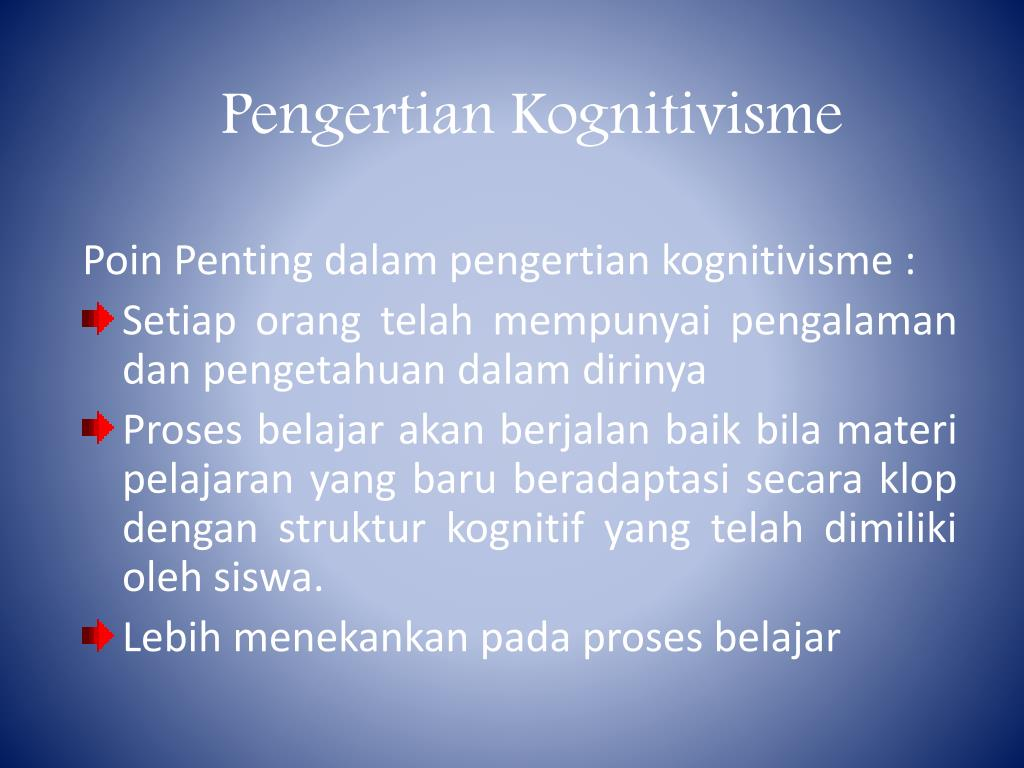 Kognitivismi