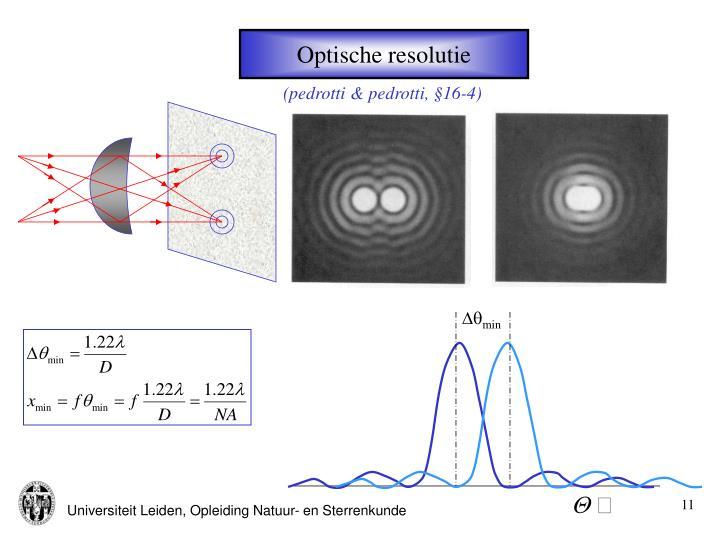 Optische resolutie