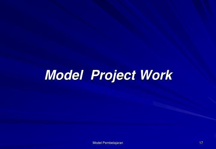 Model  Project Work