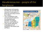 haudenosaunee people of the longhouse