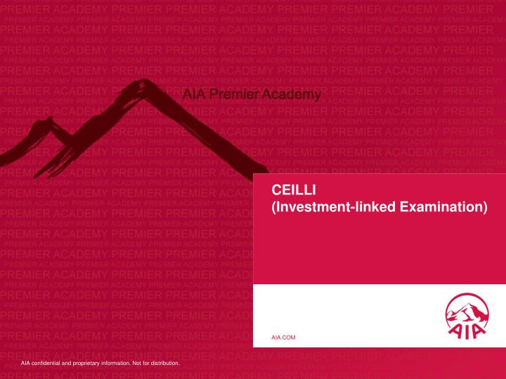 ceilli investment linked examination n.