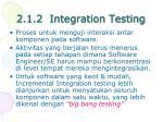2 1 2 integration testing