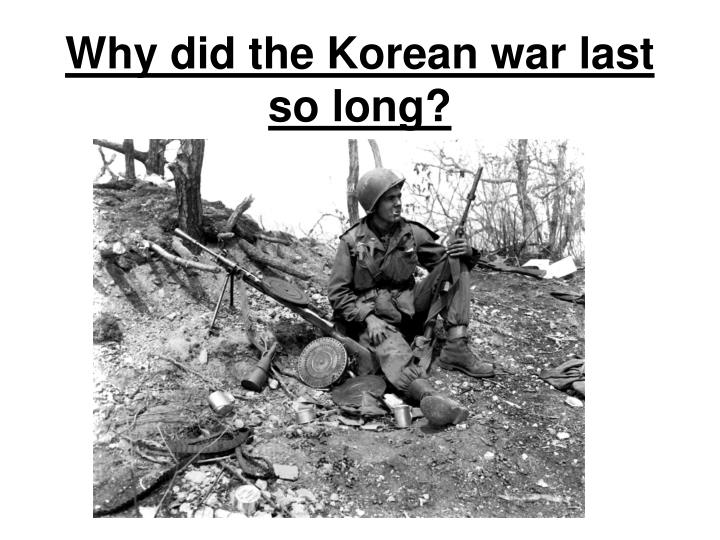 what was the long term significance of the korean war essay The us was determined to stay out of war at they opted to maintain peaceful relations as long you just finished american foreign policy: isolationism to.