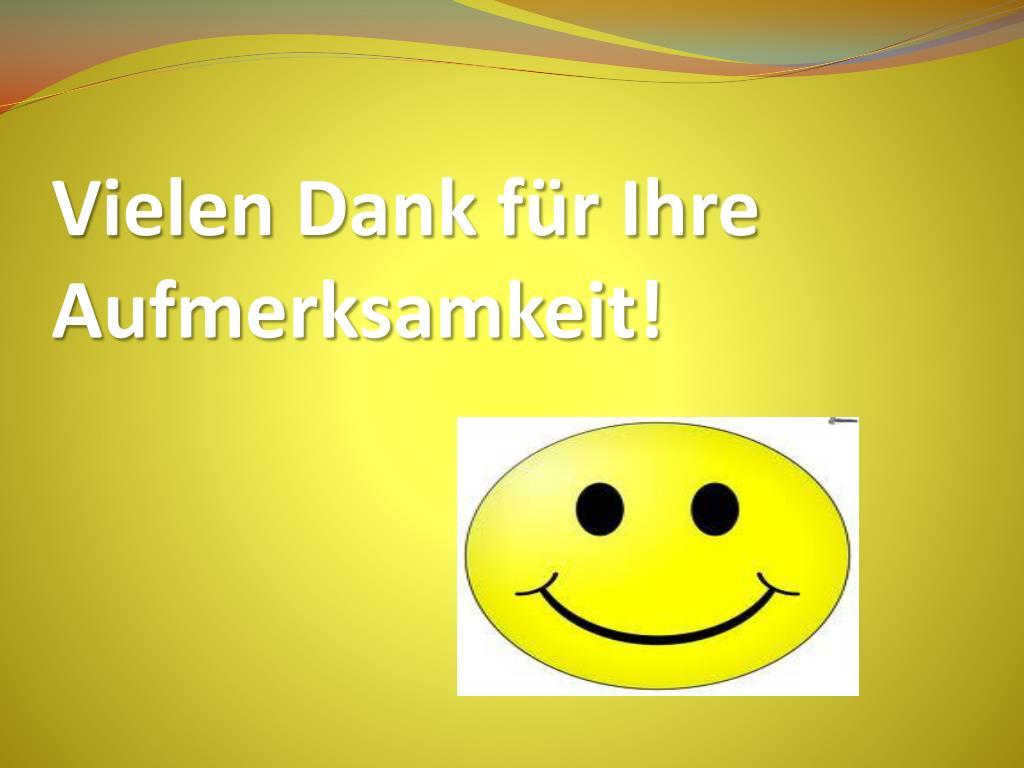 Für vielen aufmerksamkeit dank smiley ihre Vielen Dank