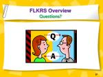 flkrs overview questions