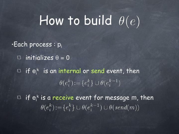 How to build