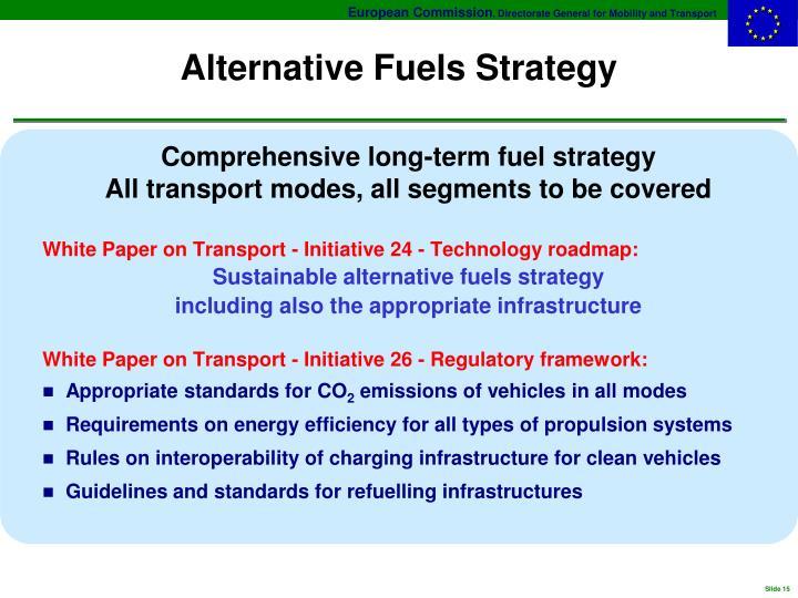 Alternative Fuels Strategy