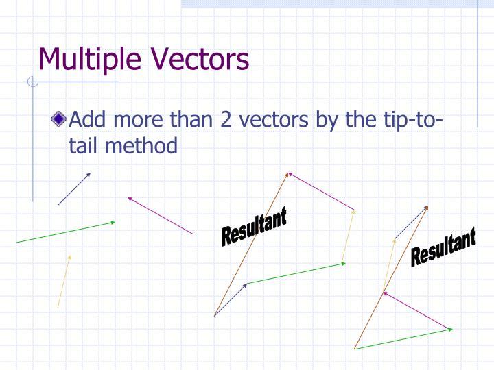 Multiple Vectors