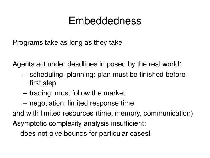 Embeddedness