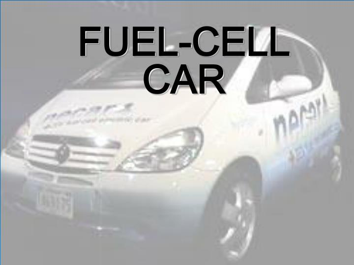 fuel cell car n.
