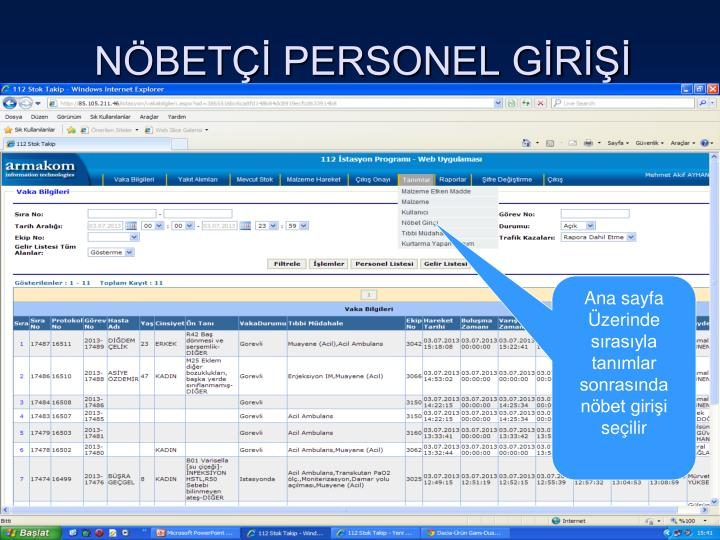 N bet personel g r