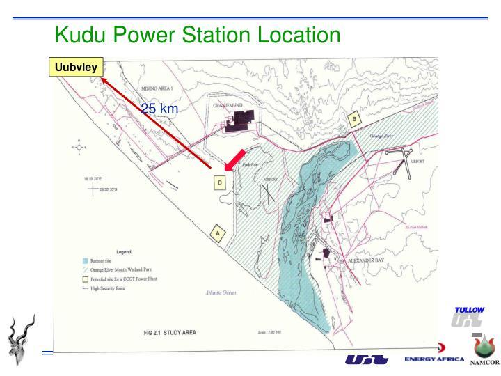 Kudu Power Station Location