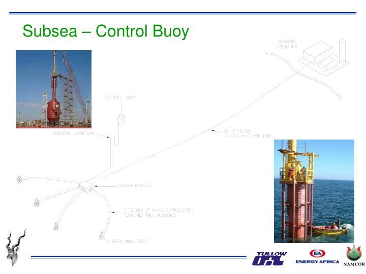 Subsea – Control Buoy