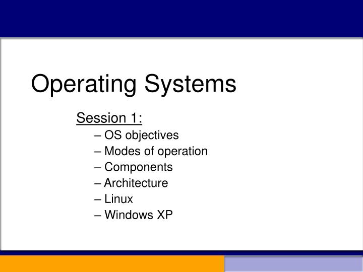 operating systems n.