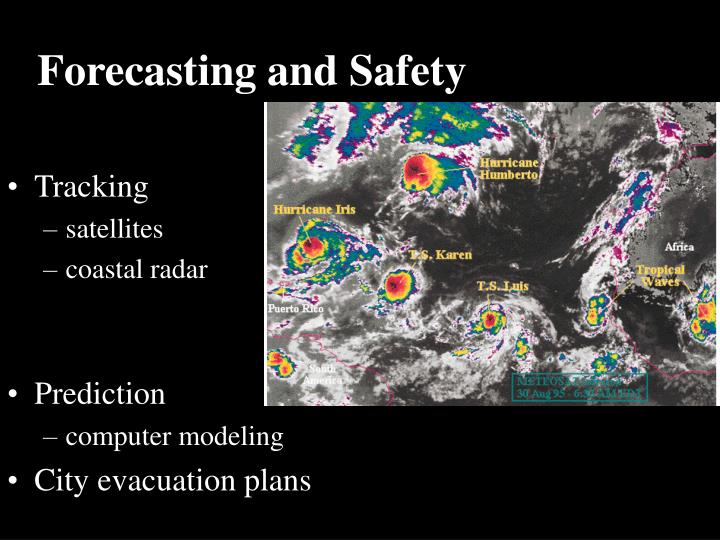 Forecasting and Safety