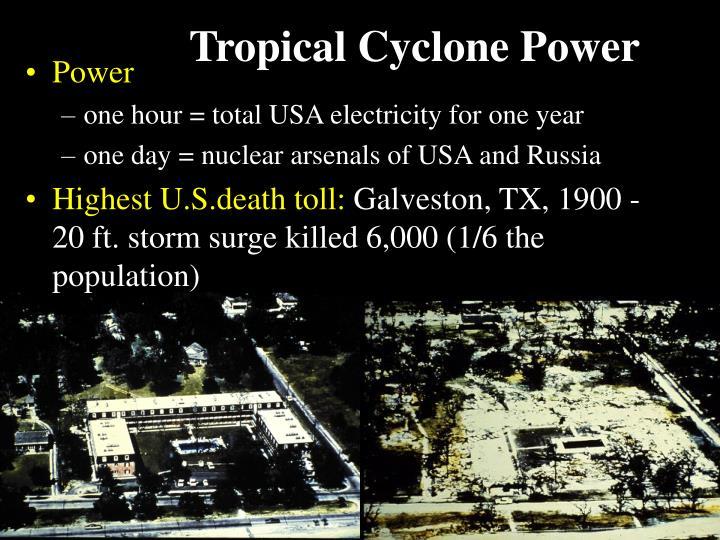 Tropical Cyclone Power
