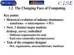 1 2 the changing face of computing