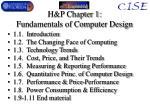 h p chapter 1 fundamentals of computer design