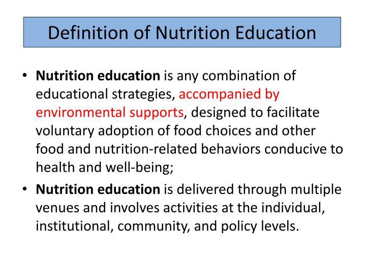 A Definition Of Education A Definition Of Education ...