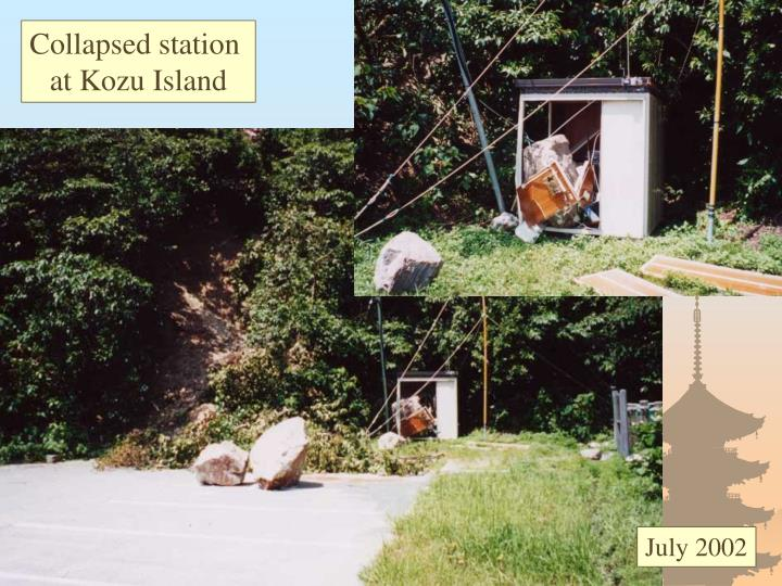 Collapsed station