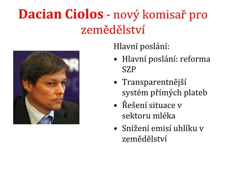 Dacian Ciolos