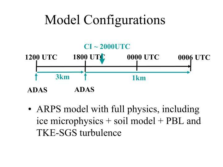 Model Configurations