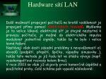hardware s t lan8