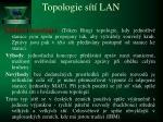 topologie s t lan4