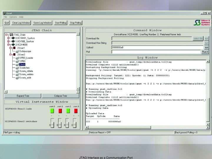 JTAG Interface as a Communication Port