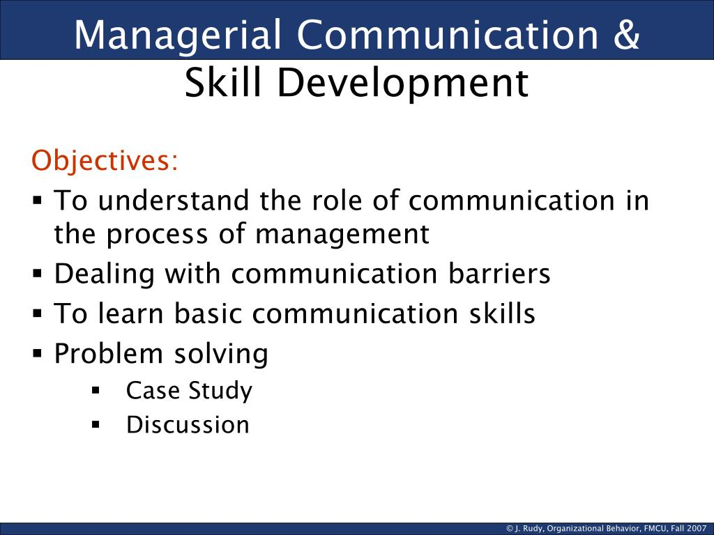 role of communication in development process