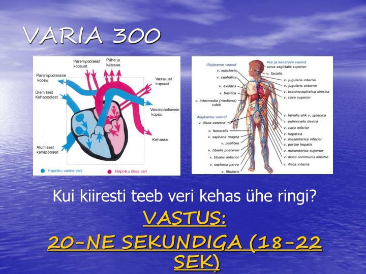 VARIA 300