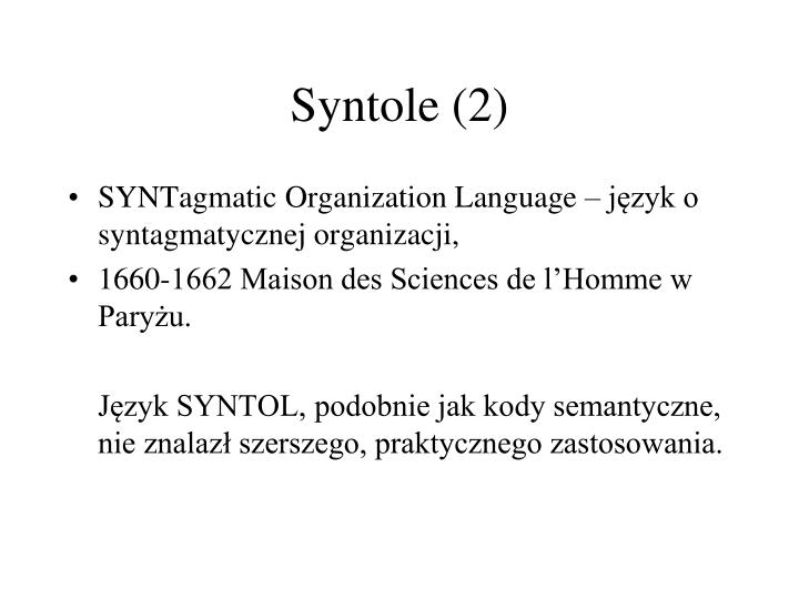 Syntole (2)