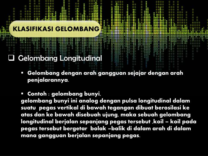 Ppt Gelombang Powerpoint Presentation Id 4179071