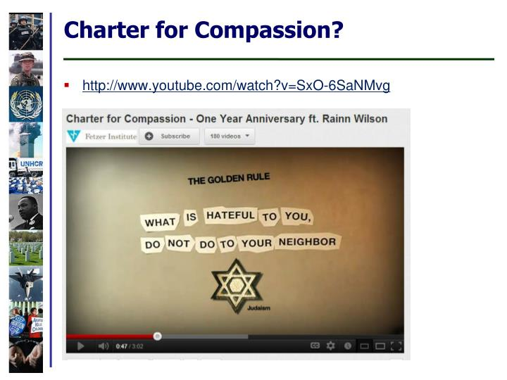 Charter for Compassion?