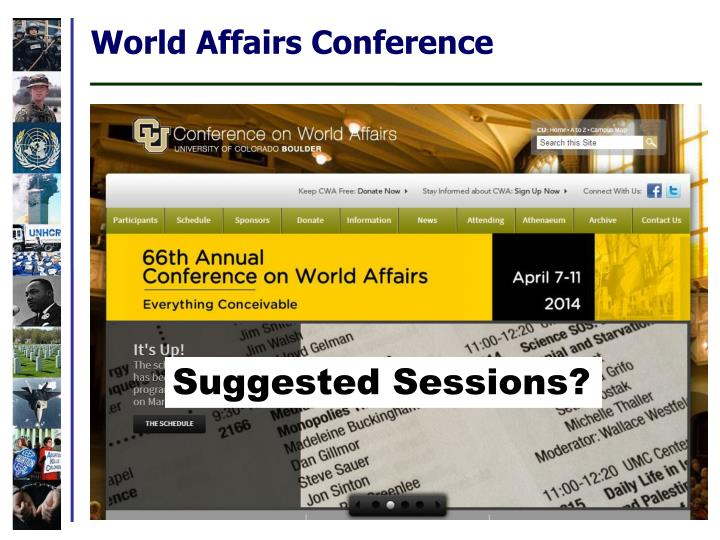 World Affairs Conference