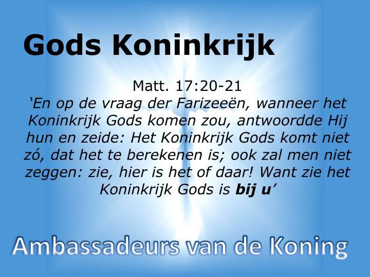 Gods Koninkrijk