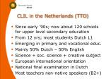 clil in the netherlands tto