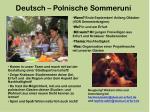 deutsch polnische sommeruni2