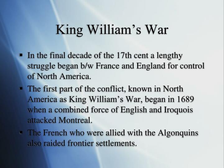 King William's War