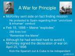 a war for principle1