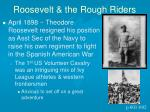 roosevelt the rough riders